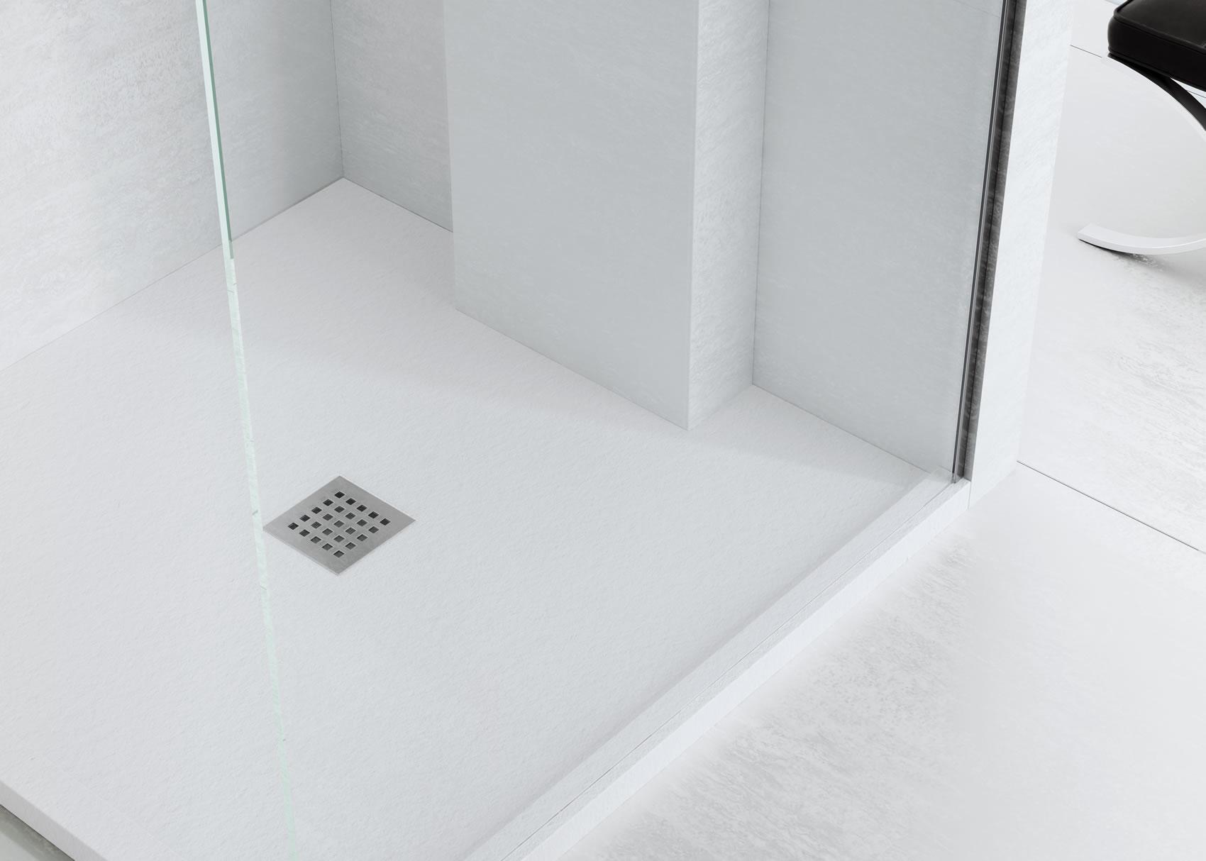 Suelos de ducha interesting colocacin de en suelos y - Suelo ducha pizarra ...