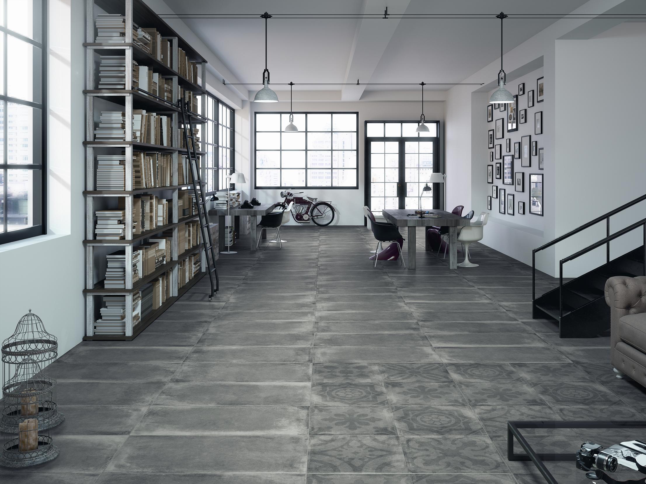Porcelanicos cementos vintage ceracasa clickdecormadrid - Suelos porcelanicos para cocinas ...